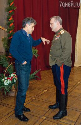 Генеральный продюсер проекта Алексей Пиманов к съемкам многосерийного фильма о Жукове готовился три года