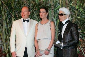 В Монако прошел Бал Роз без княгини Шарлен