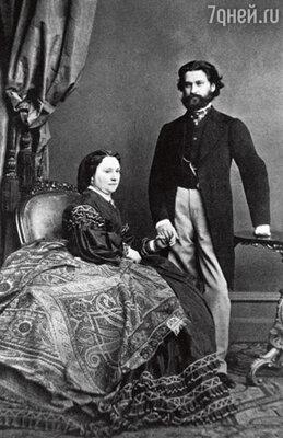 Иоганн с женой Генриеттой