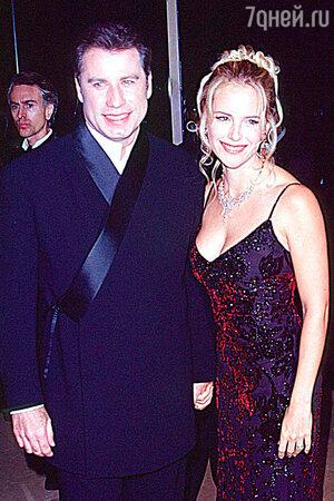 Джон Траволта и Келли Престон. 1997 г.