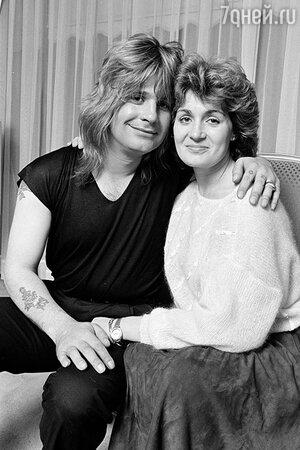 Оззи и Шэрон Осборн. 1982 г.