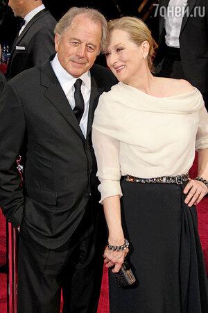 Мэрил Стрип и Дон Гаммер. 2014 г.