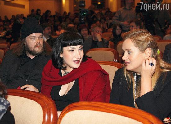 Вилле Хаапасало, Тина Баркалая и Анна Михалкова