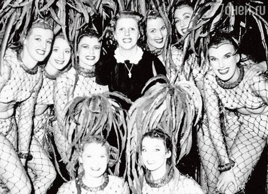 Мисс Блюбэлл и ее танцовщицы-«колокольчики». 1978 г.