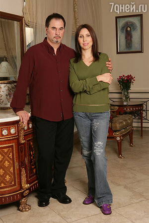 Валерий и Ирина Меладзе