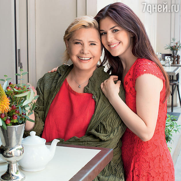 Татьяна Догилева с дочерью