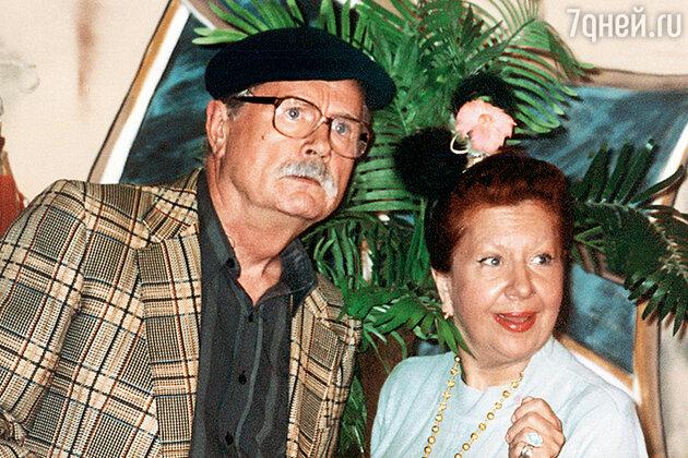 Юрий Смирнов и Инна Ульянова