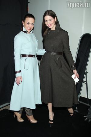 Мария Берсенева и Наталия Лесниковская