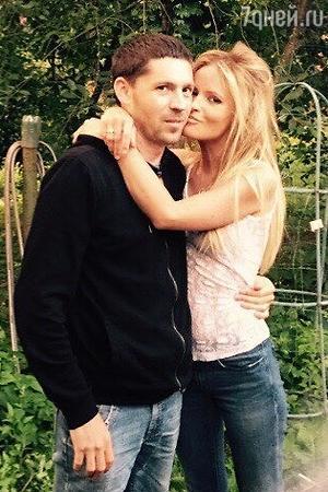 Дана Борисова с женихом Андреем