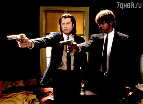 Джон Траволта и Сэмюэл Л. Джексон сыграли двух обаятельных гангстеров