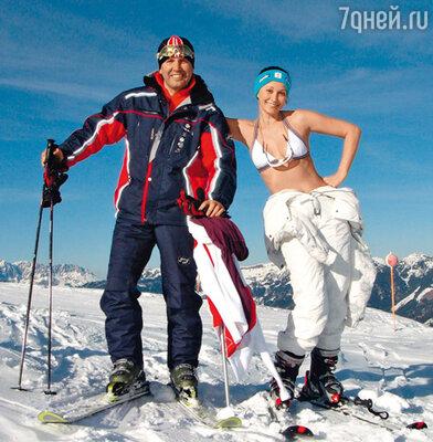 Ольга Кабо и ее муж Николай