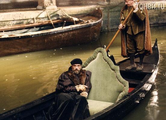 Кадр из фильма «Венецианский купец». 2004 год