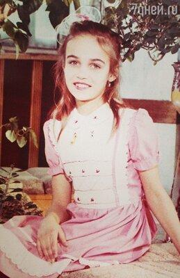 Алена Водонава в 10 лет