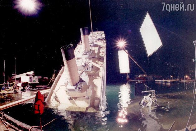 Съемки фильма «Титаник»
