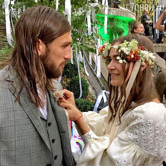 Одна из свадеб в Москве этим летом