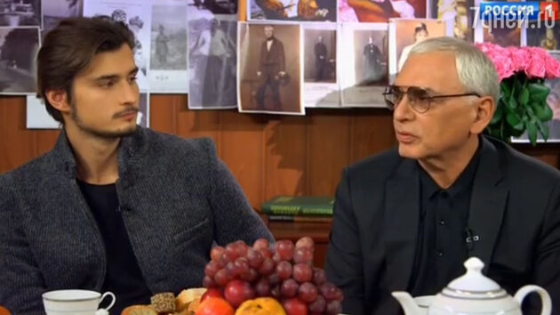 Карен Шахназаров с сыном Иваном