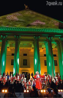 Торжественное открытие Культурной олимпиады превратилось в яркое шоу