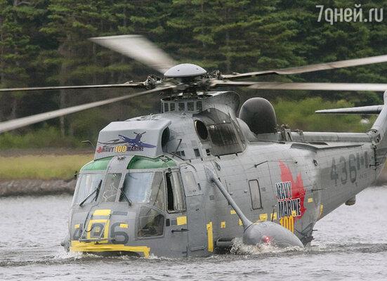 Тренировочный полет на поисково-спасательном вертолете «Си Кинг»