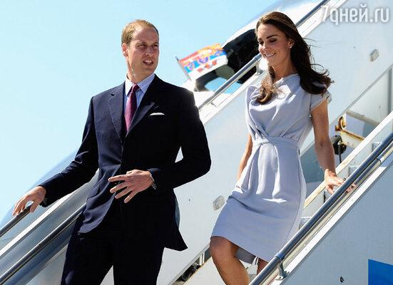 Герцог и Герцогиня Кембриджские в Лос-Анджелесе