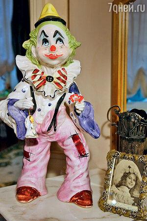 Фарфоровая фигурка клоуна — подарок Людмиле Гурченко от Юрия Никулина