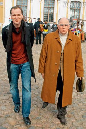 Валерий Баринов с сыном