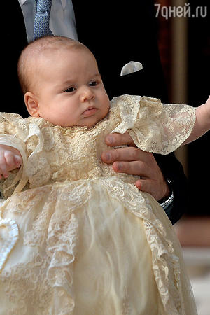 Крестины принца Джорджа. 23 октября 2013 года