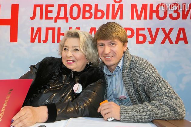 Алексей Ягулин и Татьяна Тарасова