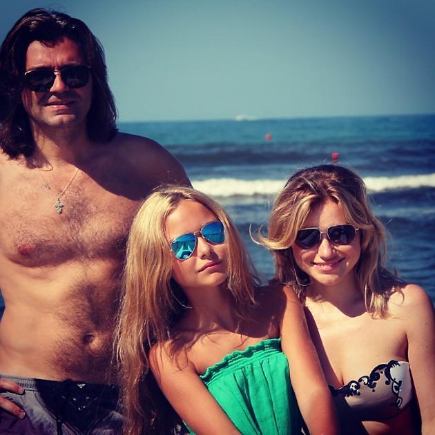 Дмитрий Маликов, Стефания и Инна Маликова
