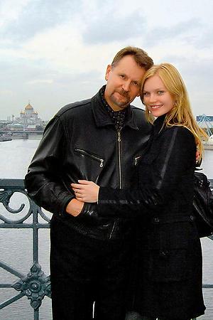 Елена Кулецкая с отцом
