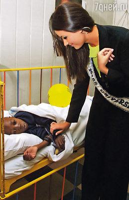 Как «Мисс Вселенная» я ездила по миру с благотворительными акциями. (Оксана Федорова в Кении)