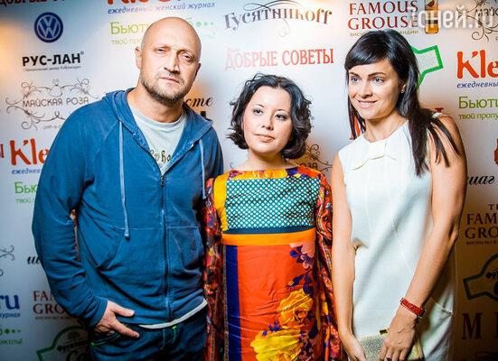 Гоша Куценко, Олеся Крапивка, Ева Ланска