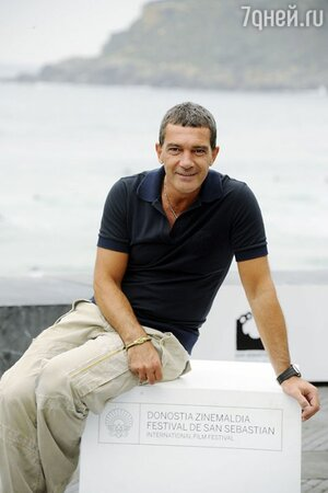 Антонио Бандерас на международном кинофестивале в Сан Себастьяне