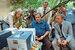 Эльдар Рязанов с Андреем Мягковым иНикитой Михалковым на съемках фильма «Жестокий романс». 1984 г.