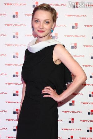 Екатерина Вилкова в платье от Vassa&Co на презентации Tervolina
