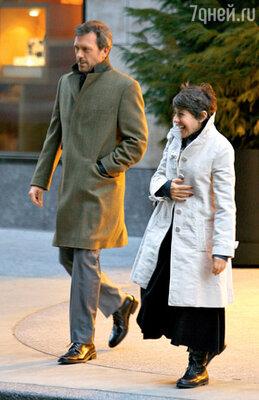 Хью Лори и Джо Грин женаты уже 22 года