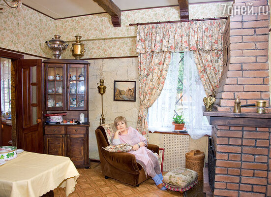 Для Ольги Аросевой дача — лучшее место для уединения и отдыха