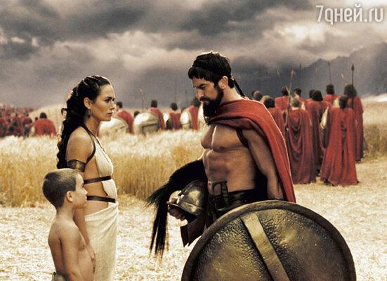 Батлер за две минуты убедил босса крупнейшей кинокомпании Голливуда взять его в фильм «300 спартанцев» на роль царя Леонида