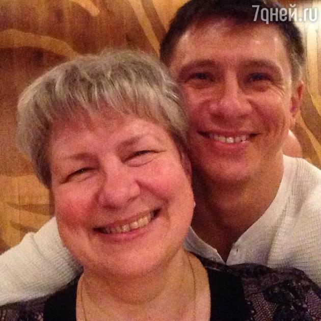 Тимур Батрутдинов с мамой Натальей Евгеньевной