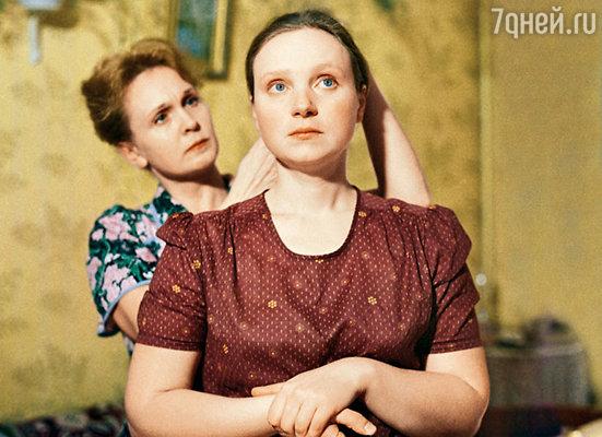 Евгению Глушенко на роль Верочки утвердили без проб
