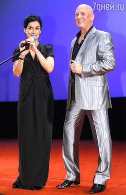Тина Канделаки и Василий Головачев