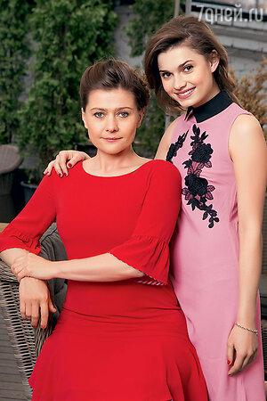 Мария Голубкина с дочкой Настей Фоменко