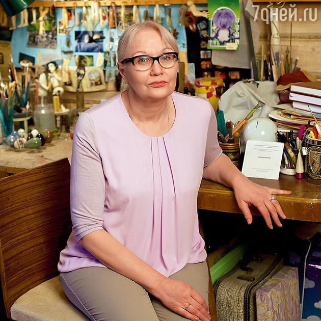 Жена Василия Ливанова