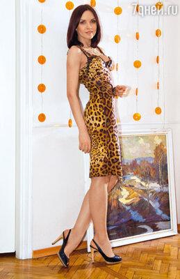 Леопардовое платье, которое Надежда купила себе сама, так бы и провисело неизвестно сколько в ее гардеробе, если бы не съемки в фильме, где ей надо было создать образ очень сексуальной дамы