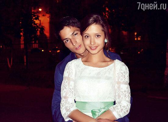 Вячеслав Петренко с любимой девушкой Аней