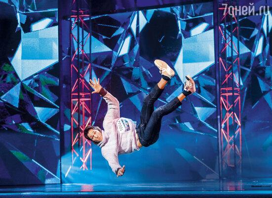 «В детстве я смотрел по телевизору разные танцевальные конкурсы и мечтал оказаться на сцене. Мечты сбываются!»