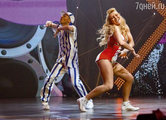 Участники «Танцев» Анна Тихая и Илья Кленин