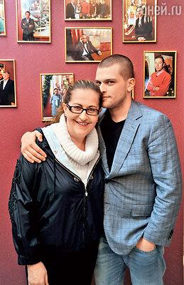 Алиса Шер с сыном Кириллом Нагиевым