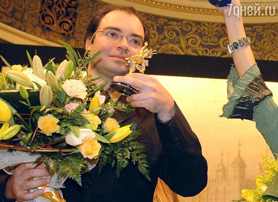 Пианист Александр Мельников - лауреат премии «Триумф»