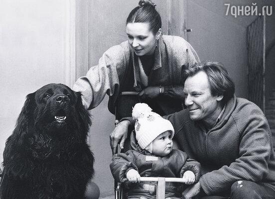 Сергей и Татьяна с дочерью Олей