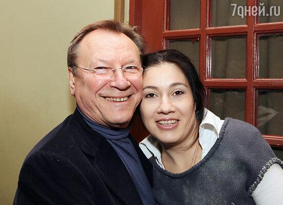 Сергей Каюмович с женой Катей